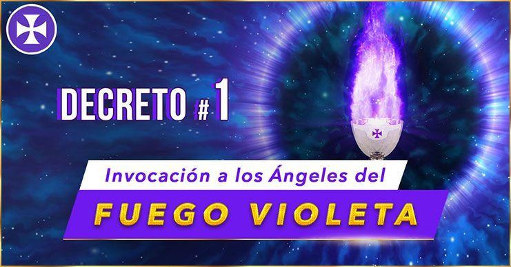 Invocación a los Ángeles del Fuego Violeta