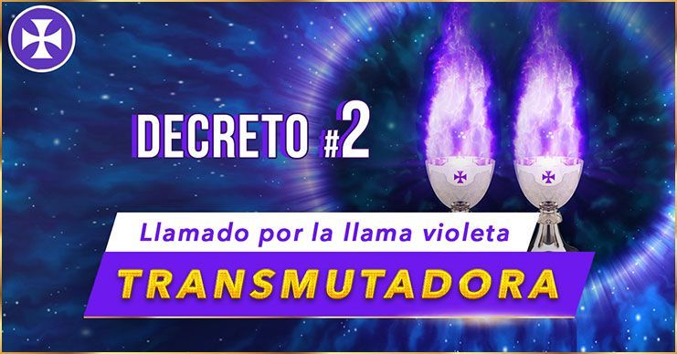 Llamado por la Llama Violeta Transmutadora