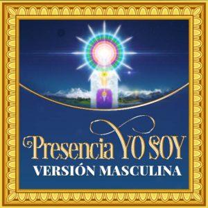 Imagen de la Magna Presencia YO SOY en Versión Masculina