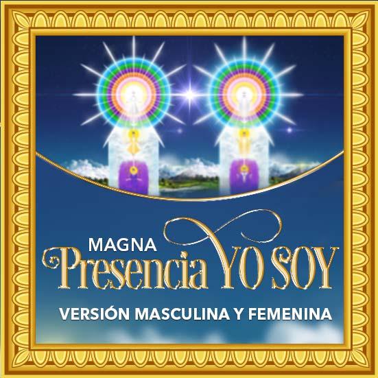Magna Presencia YO SOY - Láminas Masculina y Femenina 2 x 1