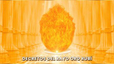 Decretos Meditación del Rayo Oro Rubí - Viernes