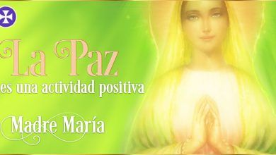 La paz es una actividad positiva | Madre María