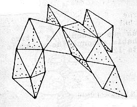 Unión de Tetraedros para conformar RAMAS