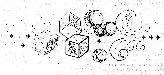 Formación de los carpines esféricos