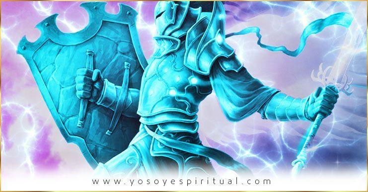 Usen la Armadura de luz azul en la batalla continua contra el mal | Arcángel Miguel