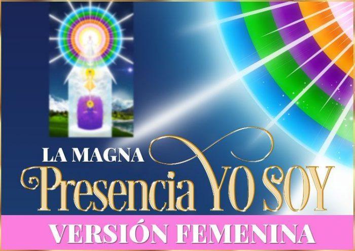 Magna Presencia YO SOY | Imagen - versión femenina