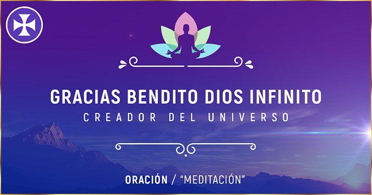 Photo of Gracias Bendito Dios infinito – Oración de agradecimiento