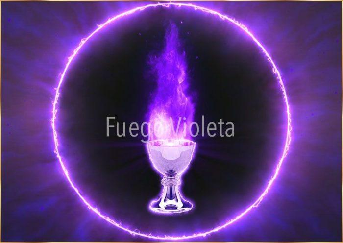 Fuego violeta - Llama violeta | Video - Animación HD