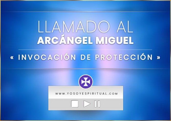 Invocación de Protección - Arcángel Miguel - Animación llama azul