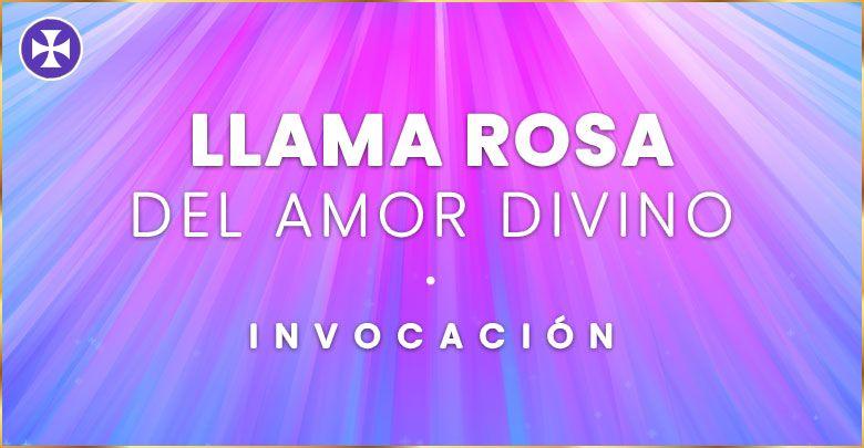 Invocación de la Llama Rosa del Amor Divino | Decreto