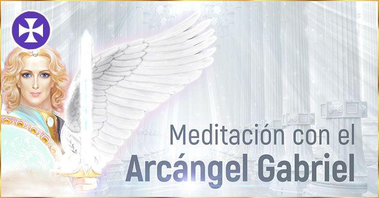 Meditación con el arcángel Gabriel y el templo de luz blanca