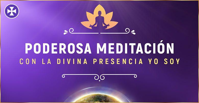 Poderosa meditación guiada con la Divina Presencia YO SOY